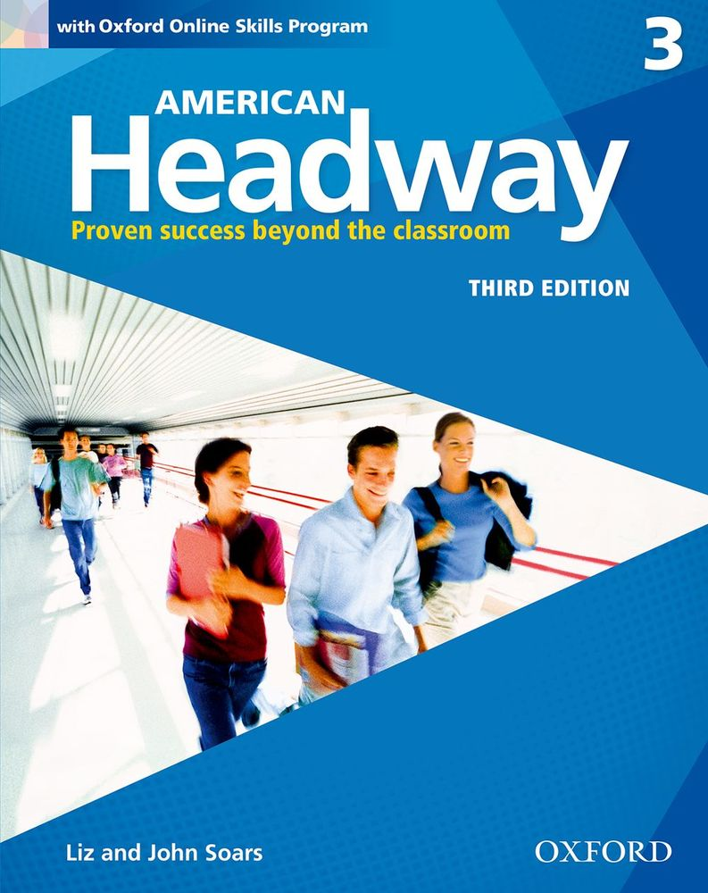 American headway 3 students book with oxford online skills american headway 3 students book with oxford online skills program third edition fandeluxe Choice Image