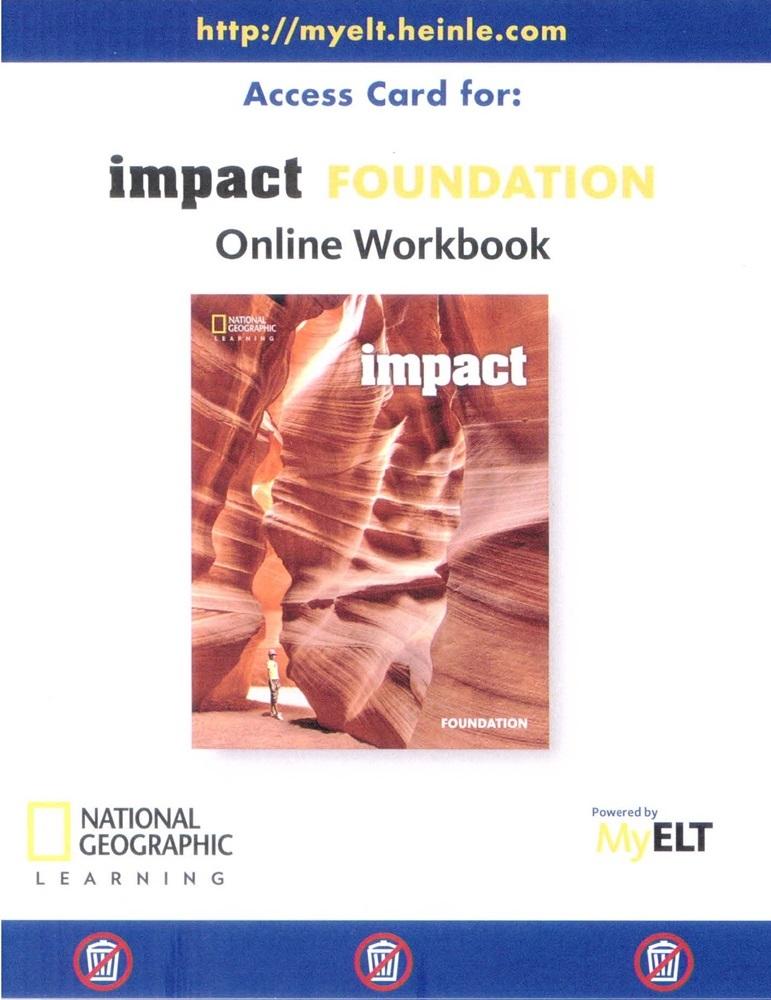Cursos de idiomas ensino de idiomas impact american foundation online workbook printed access code fandeluxe Image collections